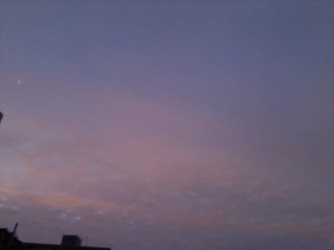 cerul dimineaţă la ora 7