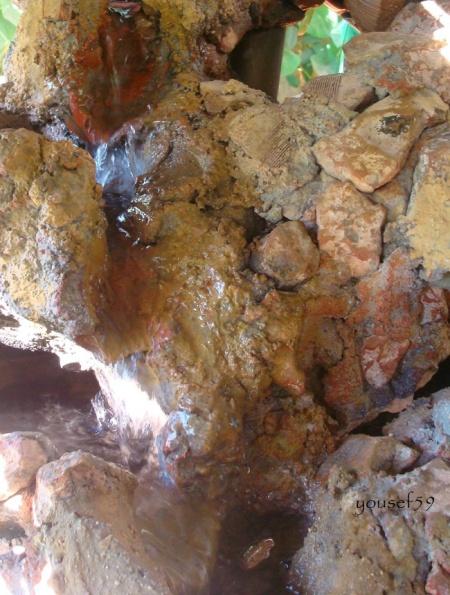 printre pietre s-a format un fir de apa