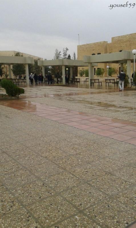 prin zona universitatii iordaniene