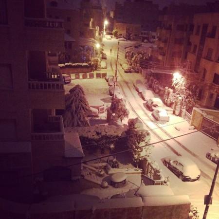 poveste  de iarna din Iordania