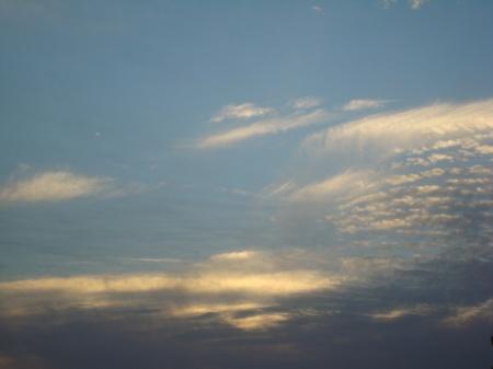 din culorile cerului
