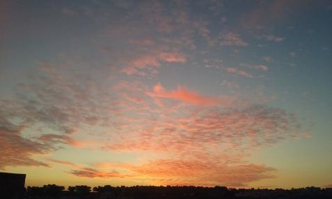 apus de soare ianuarie 2016